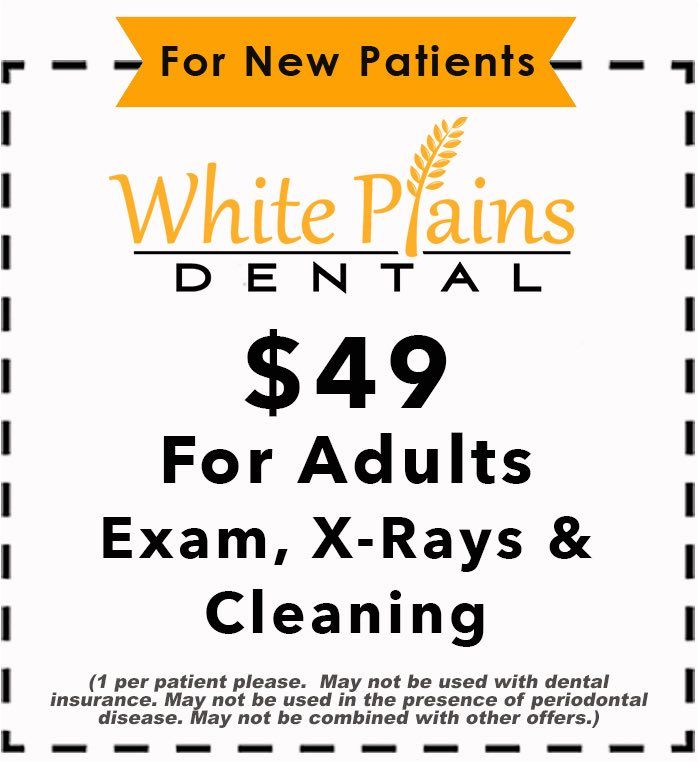 dental coupon for your local dental office | White Plains Dental | Northbrook IL